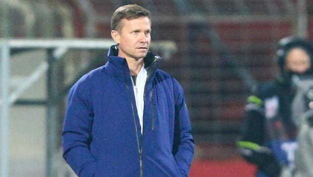 Salzburg-Trainer Jesse Marsch (Bild: APA/EXPA/THOMAS HAUMER)