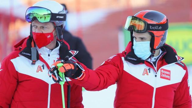 Mike Pircher (li.) und Roland Leitinger