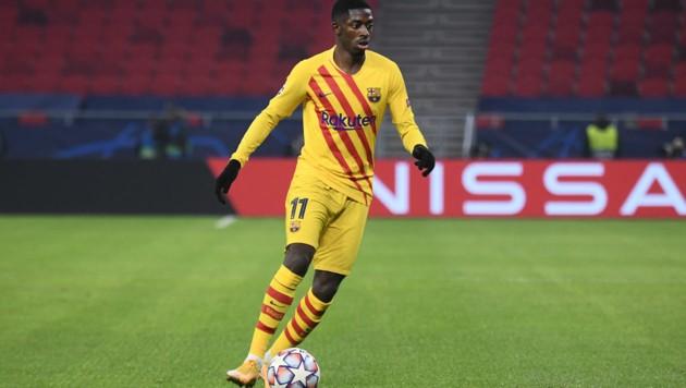 Osmane Dembele (Bild: APA/AFP/ATTILA KISBENEDEK)