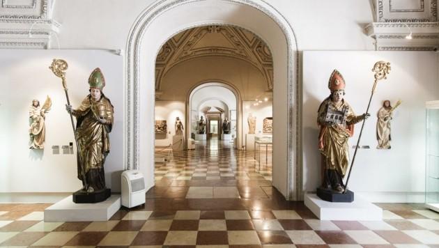 Prunkvolle Räume im Dommuseum (Bild: Dommuseum/Lienbacher)