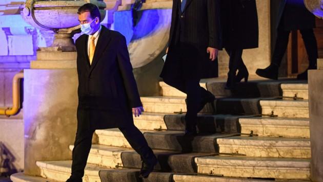 Rumäniens Premierminister Ludovic Orban (Liberale) (Bild: AFP)