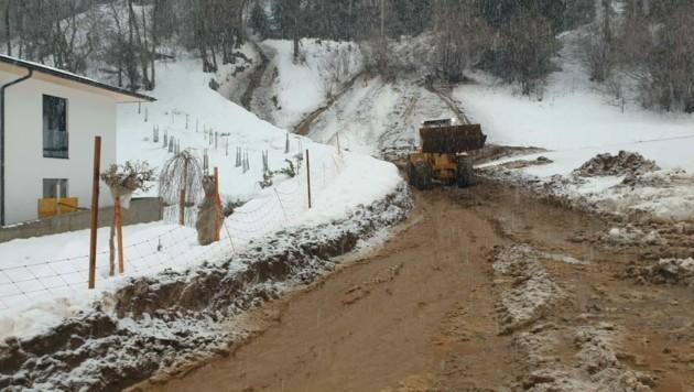 Die Aufräumarbeiten im Mölltal und im Lesachtal laufen auf Hochtouren (Bild: ZVG)