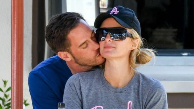 """Paris Hilton bezeichnet ihren Freund Carter Reum als """"die Liebe ihres Lebens"""". (Bild: www.pps.at)"""