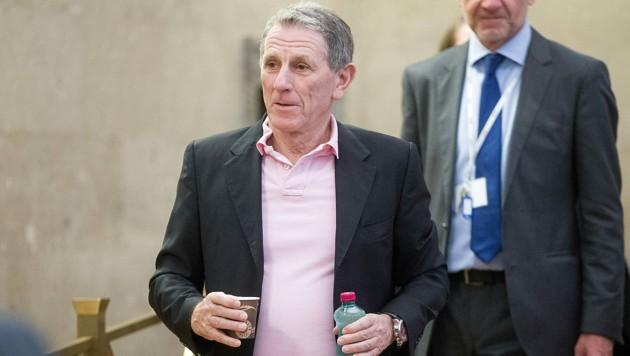 Peter Hochegger während des Buwog-Prozesses