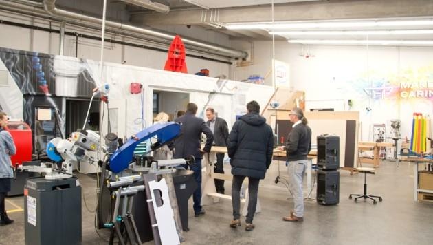 Im Makerspace Carinthia in Klagenfurt wird Innovation gelebt. (Bild: HORST Bernhard STUDIOHORST)