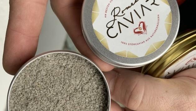 Kaviar-Salz ist die neue Spezialität für alle Hobby-Köche (Bild: Schulter Christian)