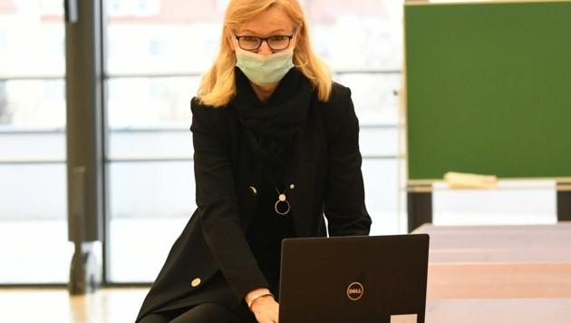 Direktorin Karin Rojacz-Pichler vom Gymnasium Kurzwiese in Eisenstadt (Bild: Huber Patrick)