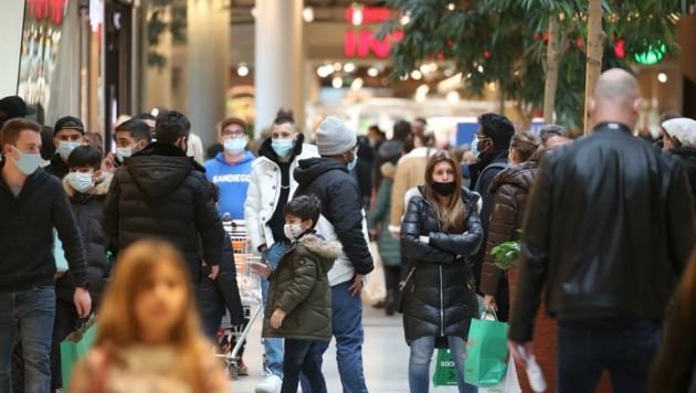 Auch im Europark blieb der erwartete Ansturm heuer aus. Den Händlern geht es um Schadensbegrenzung. (Bild: Tröster Andreas)