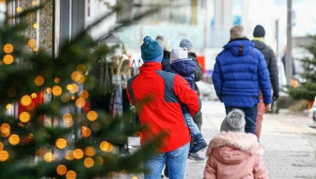 Die Pongauer hatten wenig Shopping-Lust, wie hier in St. Johann im Pongau. (Bild: Gerhard Schiel)