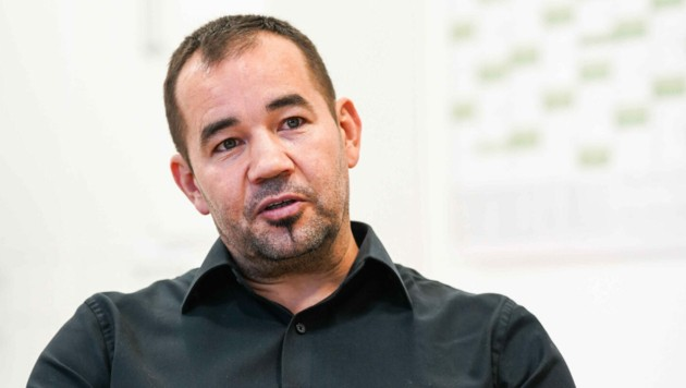 Finanz- und Österreich-Chef Volker Ortlechner. (Bild: Markus Wenzel)