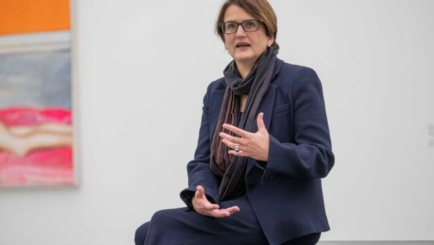 Lentos-Chefin Hemma Schmutz (Bild: Einöder Horst)