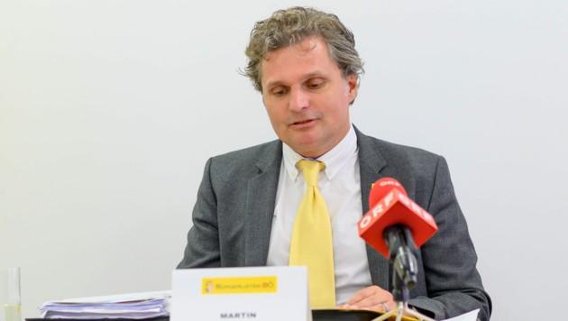Bürgerlisten-Parteichef Dr. med. Martin Gollner (Bild: Wolfgang Simlinger)
