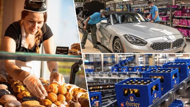 """Die Vielfalt der betroffenen Zulieferer ist groß: Den Bäckern fehlen die Hotels als Großabnehmer, Autozulieferer fürchten die Corona-bedingte """"einseitige Fokussierung der Politik"""", und Brauereien bringen ihr Bier wegen der Gastro-Schließung nicht an den Mann."""