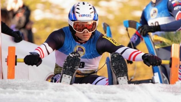 Michi Scheikl und die Naturbahnrodler starten auf der Winterleiten in die Weltcupsaison. (Bild: Miriam Jennewein)