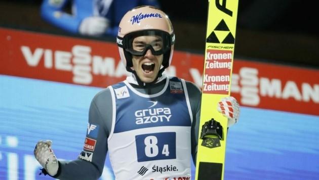 Super-Adler Stefan Kraft ist wieder fit.
