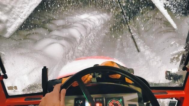 Die Schneeräumung sorgte für einen massiven Streit in Oberkärnten. (Bild: Wallner Hannes)