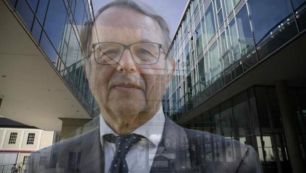 Uni-Rektor Hendrik Lehnert steht im Kreuzfeuer der Kritik (Bild: Tröster, Tschepp)