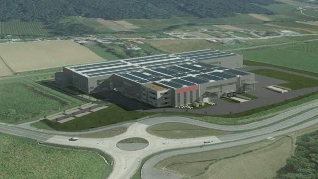 In den kommenden Monaten entsteht in Weiz die erste Niederlassung der neu gegründeten österreichischen Tochtergesellschaft der deutschen Albert Craiss GmbH & Co. KG. (Bild: Unger Stahlbau Ges.m.b.H.)