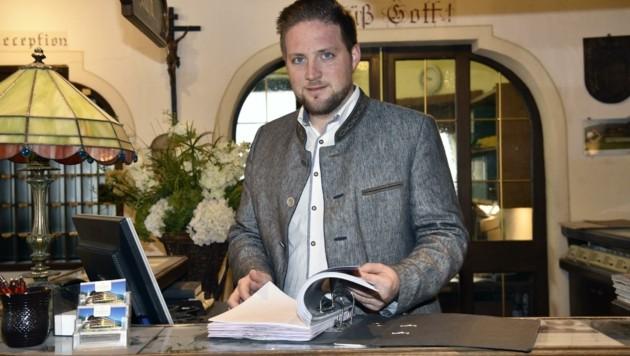 Sebastian Baier sucht noch einen Koch und einen Kellner. (Bild: Holitzky Roland)