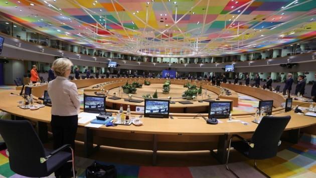 Der EU-Gipfel in Brüssel beschäftigte sich am Donnerstag mit vielen Baustellen.