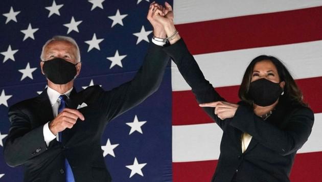 Joe Biden und Kamala Harris (Bild: AFP )