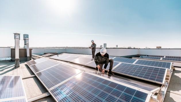 Neue Richtlinien in der Raumplanung, welche auch die Fotovoltaik betreffen. (Bild: Kelag)
