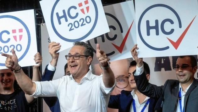 Auftaktveranstaltung zur Wien-Wahl des Team HC Strache - nach der Wahl gab es keine Jubelstimmung. (Bild: SEPA.Media KG   Martin Juen   www.sepa.media)