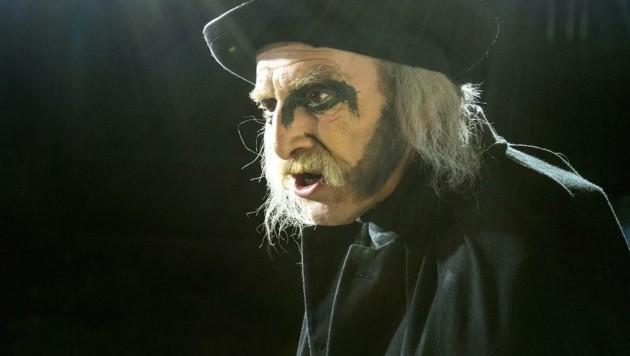 """Adi Peichl als """"Boandlkramer"""" im """"Brandner Kaspar"""" (Bild: Guenter Jagoutz . www.jagoutz.at)"""