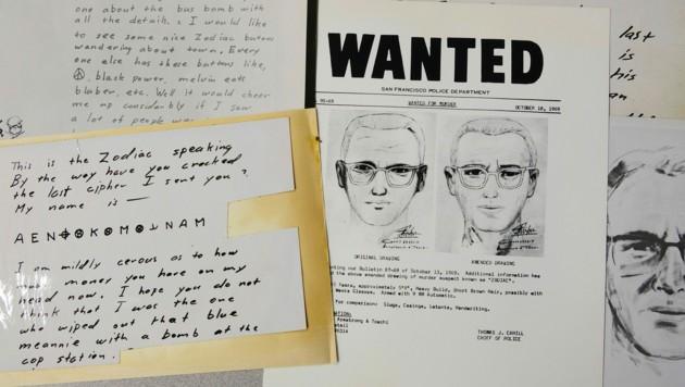 Der Mörder schickte verschlüsselte Botschaften an Zeitungen. (Bild: AP)