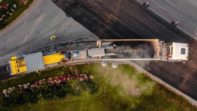 Trotz Corona-Krise konnte das Land Salzburg das kürzlich erhöhte Budget für notwendige Straßensanierungen beibehalten (Bild: EXPA Pictures. Alle Rechte vorbehalten. // EXPA Pictures. All rigths reserved.)