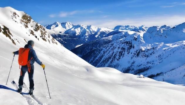 Viele Kärntner setzen heuer auf Skitouren. (Bild: Wallner Hannes)