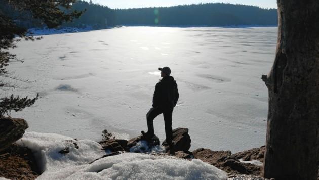 Besonders im Winter ist der Forstsee ein beliebtes Fotomotiv bei den vielen Besuchern. (Bild: zVg)