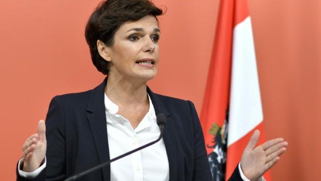 SPÖ-Vorsitzende Pamela Rendi-Wagner (Bild: APA/Herbert Neubauer)