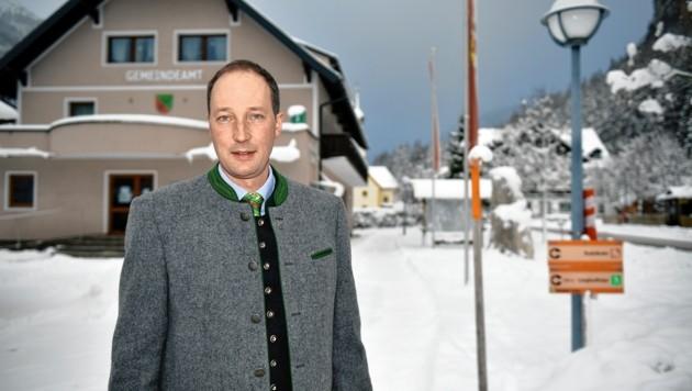 Franz Kaml, Bürgermeister von Tweng im Lungau (Bild: Roland Holitzky)