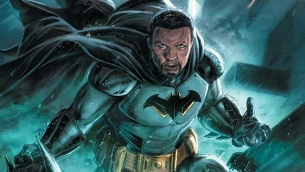 Dürfen wir vorstellen: der nächste Batman Timothy Fox. Er ist der Sohn von Lucius Fox, ein Geschäftspartner vom Original-Batman Bruce Wayne. (Bild: www.twitter.com/DCBatman)