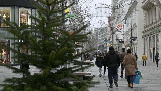 Droht ein neuer harter Lockdown in Österreich? (Bild: APA/HANS PUNZ)