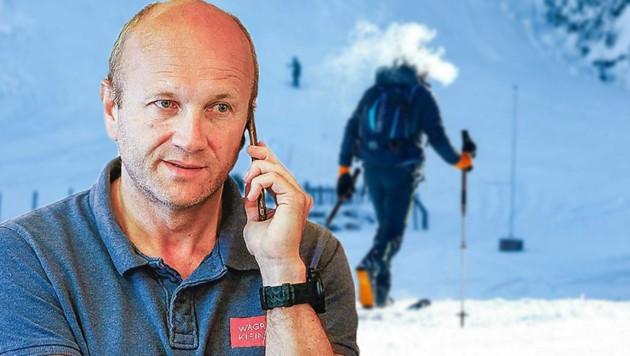 """Stefan Passrugger, TVB-Chef für Wagrain-Kleinarl, im """"Krone""""-Telefonat (Bild: Gerhard Schiel)"""