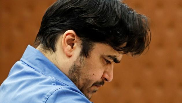 Ruhollah Zam während seines Prozesses Ende Juni in Teheran (Bild: AFP)