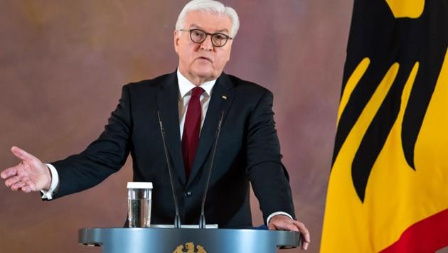 Deutschlands Bundespräsident Frank-Walter Steinmeier (Bild: APA/dpa/Bernd von Jutrczenka)
