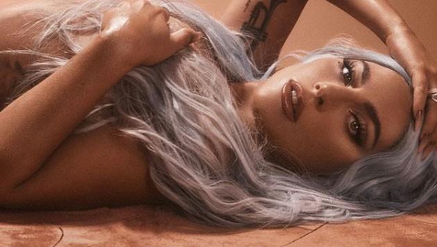 """Lady Gaga wirbt oben ohne für ihre Kosmetiklinie """"HAUS Laboratories"""" (Bild: https://www.instagram.com/ladygaga)"""