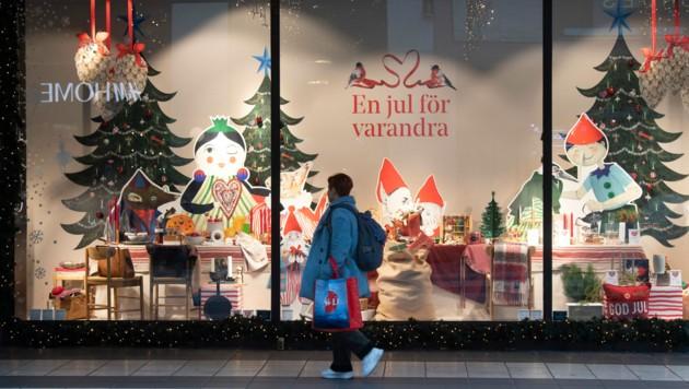 Die Regierung empfiehlt den Schweden, Geschäfte nicht zu betreten, sollte dies nicht unbedingt notwendig sein.