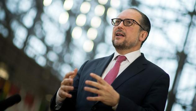 Außenminister Alexander Schallenberg (Bild: AUSSENMINISTERIUM/MICHAEL GRUBER)