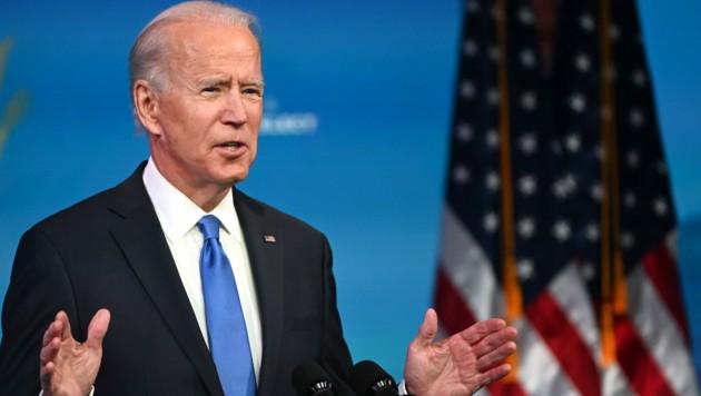 Biden fordert Trump zu Anerkennung von Niederlage auf. (Bild: AFP)