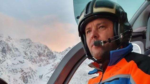 Einsatzleiter Toni Rainer stand mit sechs weiteren Piloten im Einsatz. (Bild: Toni Isser)