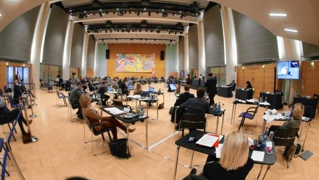 Am Mittwoch startet im Congress Innsbruck der Dezember-Landtag.