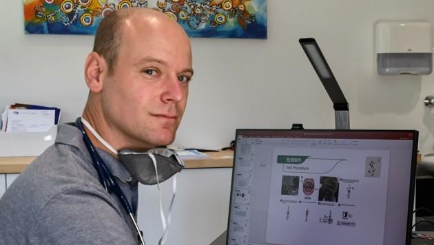 Der Kitzbühler Internist Christian Hengl war der erste Arzt, der aus eigenem Engagement heraus professionelle Corona-Hilfe für Tausende Menschen anbot. (Bild: LIEBL Daniel | zeitungsfoto.at)