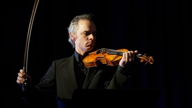 Spitzengeiger Benjamin Schmid und Mozarteum-Meisterschüler spielen alle Violinsonaten von Beethoven (Bild: Willi Pleschberger)