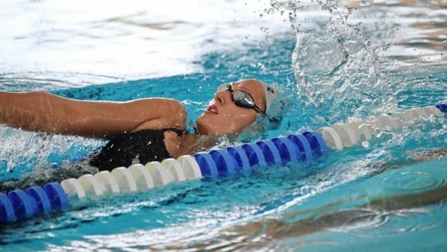 Caroline Pilhatsch kämpft in der Auster ums Olympia-Ticket (Bild: Sepp Pail)