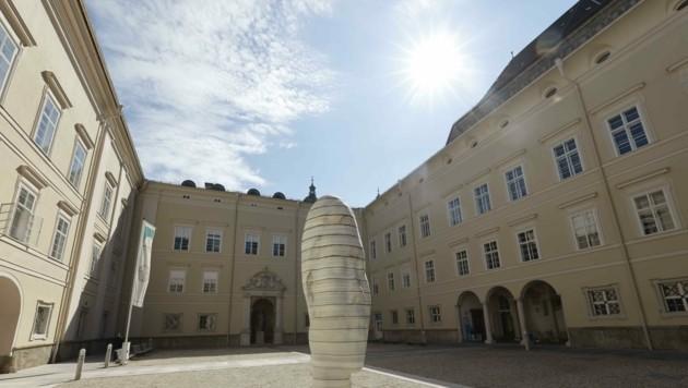 Dem Senat liegt ein anonymer Antrag zur Abwahl von Uni-Rektor Hendrik Lehnert vor. (Bild: Tschepp Markus)