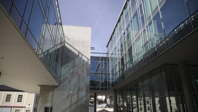 Der Unipark-Nonntal: Rektor Lehnert hat es speziell auf die Geisteswissenschaften abgesehen (Bild: Tröster Andreas)